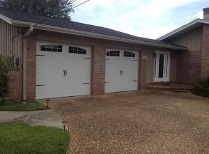 Residential garage doors for Florida wind code for garage doors