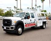 GARAGE DOOR COMPANY TRUCK