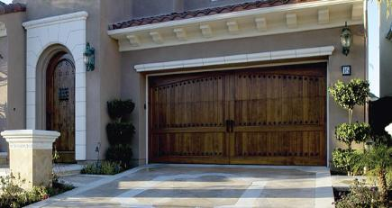 coastal overhead door - wood garage door